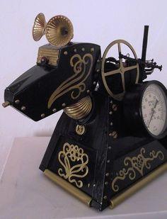 Steampunk Dr Who K9