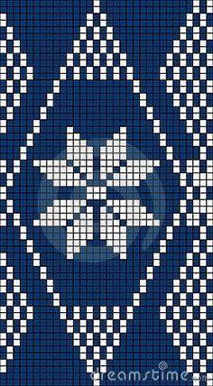 Seamless Snowflake Knit Pattern by Anita Potter, via Dreamstime mochilaSeamless Snowflake Knit Pattern Stock Vector - Illustration of snow, snowflake: about Snowflake Knit Pattern that can be tiled seamlessly. Tapestry Crochet Patterns, Bead Loom Patterns, Crochet Stitches Patterns, Weaving Patterns, Cross Stitch Patterns, Knitting Patterns, Bag Crochet, Crochet Chart, Pixel Crochet