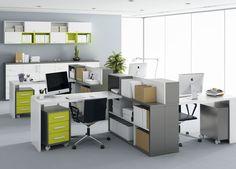 Decoración de oficinas modernas, elegantes y funcionales | Esengey Ideas para tu casa - Cortinas Roller Blackout