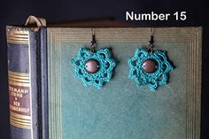 Gehäkelte Ohrringe Vintage Boho Style Design: Amazon.de: Handmade