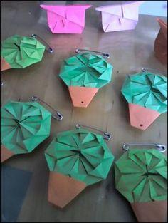 Origami no Porto: manjericos