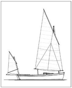 ROMILLY's sail plan