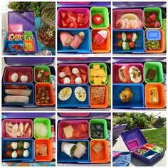 theworldaccordingtoeggface: My Bento Box Rocks - Oodles of healthy low carb WLS weight loss surgery friendly bento lunch ideas #lunch