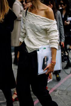 Street Style Paris Fashion Week Primavera Verano 2017 | Galería de fotos 3 de 25 | VOGUE