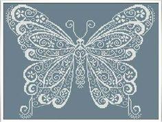 Butterfly - Cross Stitch Pattern  Alessandra Adelaide