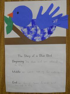 64 New Ideas Bird Theme Preschool Activities Art Projects Bird Crafts Preschool, Daycare Crafts, Classroom Crafts, Toddler Crafts, Preschool Colors, Preschool Projects, Kids Crafts, Kindergarten Writing, Writing Activities