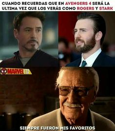 Read 1 from the story Memes de Avengers End Game (¡SPOILERS!) by Fell_in_hell (México-chan with 418 reads. Memes Marvel, Avengers Quotes, Avengers Imagines, Marvel Funny, Marvel Dc Comics, Funny Comics, Avengers Cast, Marvel Avengers, Marvel Universe