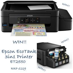 WIN Epson Eco Tank 3in1 Printer E: 12/02/2016
