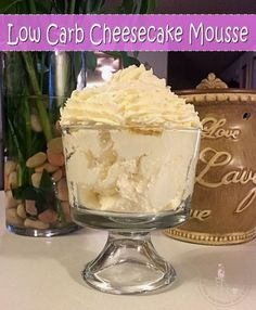 This has got to be THE easiest low carb dessert out there. It takes only 2 ingredients and less than 5 minutes to whip up. If you don't want this to taste like cheesecake, you can substitute any...