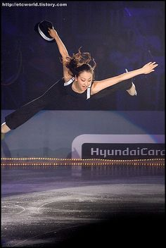 Mao Asada (Japan) performing during Superstars on Ice, 2008