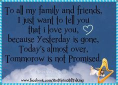 Luv my fanily and friends