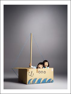 Inspiration : fabrique ton bateau #DIY