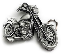 CHOPPER MOTORCYCLE Belt Buckle Biker Tattoo Harley Custom | bikeraa.com