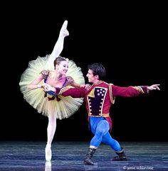 Tiler Peck and Joaquin de Luz in Stars and Stripes - Photo Gene Schiavone