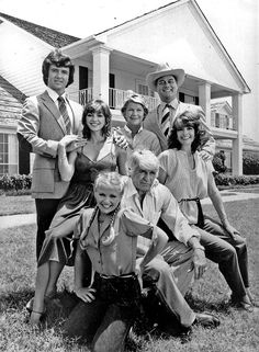 """Dallas,"" starring Larry Hagman, Patrick Duffy, Victorian Principal, Linda Gray, Barbara Bel Geddes and Jim Davis"