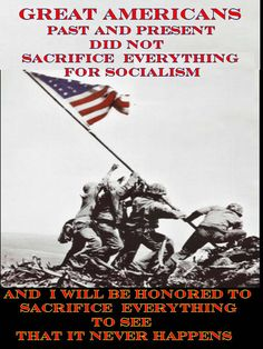 .Too many men and women paid (and are paying) the ultimate sacrifice for us to have freedom.  Freedom is NOT free and we need to take our great country back and build her again as intended by our Forefathers.