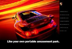 Like your own portable amusement park. #Porsche 993 Turbo