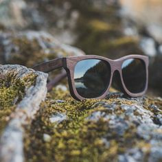 Wood3n Eyewear - Poseidon Walnut  Handmade in Sweden  wood3n.com