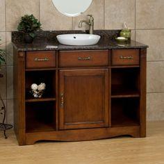 "48"" Carrow Vanity with Semi-Recessed Basin - Bathroom Vanities - Bathroom"