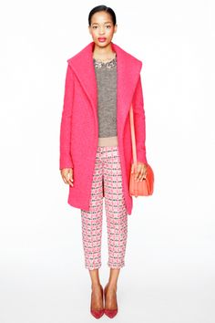 J.Crew's Army Of Mini Jennas In Statement Pants, Neon Sweaters, & Sequins