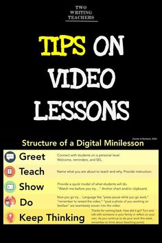 By now, you've probably made a video lesson, or at least you've woken up feeling stressed about the prospects of doing it. Here are a few tips. Teaching Strategies, Teaching Resources, Marketing Strategies, Marketing Plan, Business Marketing, Content Marketing, Internet Marketing, Teaching Ideas, Instructional Coaching