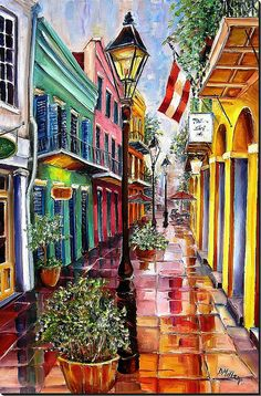Reflections on Exchange Alley ~ Diane Millsap