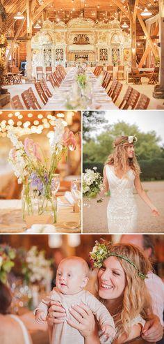 WOW this entire wedding is simply stunning! A Pre-Raphaelite Love Affair.