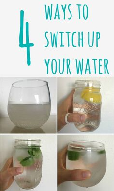 4 Ways to Switch Up Your Water