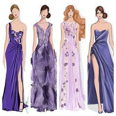 Purple daze Thursdays #sketchoftheday #drawdaily #sketch #illustrator #style #fashionillustration #fashionillustrator #fashion #fashiondaily #purple #marchesa #ralphandrusso