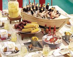 Adorable Crab Feast Set up!