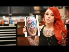 Megan Massacre's Favorite Tattoos | NY Ink - YouTube