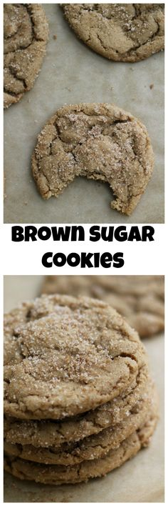 Sugar cookies get an edgy twist in these dark and chewy brown butter brown sugar cookies…you won't be able to have just one!