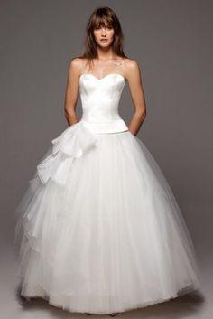 Brautkleid im Ballerina-Look