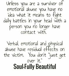 Nothing is worse than being in a relationship with someone that is using you for their own gains, emotionally abusing you, and all the while professing their love for you to the world. Only to later leave you and paint you as the villain .. loving a narcissist sucks. Emotional Abuse Quotes, Emotional Intelligence, Emotional Pain, Toxic Relationships, Abusive Relationship Emotionally, Abusive Relationship Quotes, Leaving A Narcissist, Divorcing A Narcissist, Dealing With A Narcissist