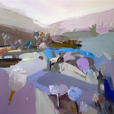 Richard Claremont #Art and #Inspiration - 'Riverlight' - Landscapes #Oil #Paintings