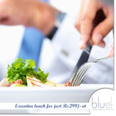 Executive #lunch at a price that is hard to believe. Just Rs.299/- gets you #soups, #salads, main course, #desserts and #juices. #food #hotels #mumbai