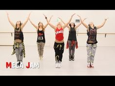 'Get Up Offa That Thing' JAMES BROWN choreography by Jasmine Meakin (Mega Jam) - YouTube