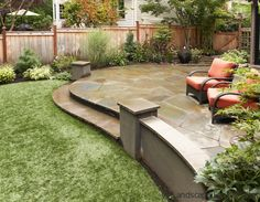 Great way to design a patio