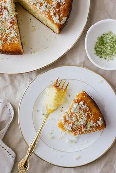 Lime, Yogurt and Olive Oil Cake