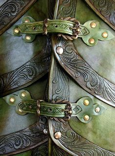 Detail of elf armor