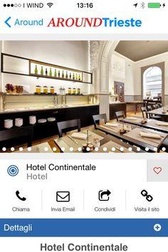 HOTELCONTINENTALE TRIESTE NEL CUORE DEL CENTRO STORICO DELLA CITTA' www.continentalehotel.com