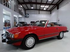 1987 Mercedes-Benz 560SL-Class, Red/Tan Leather Interior, ONLY 39,245 MILES, Asking Only $43900.00. Contact me at tafsr192@aol.com