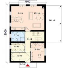 Rodinný dům s podkrovím 6+kk na úzké pozemky Praha, RD_034 | Naše reference | Projekty domů cz