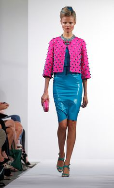 The fashion of Oscar de la Renta