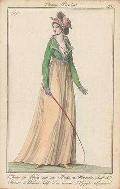 Journal des dames et des modes 1797 (wahrscheinlich Frankfurter Ausgabe)
