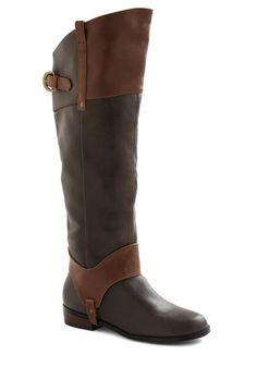 Rein Austin Boot by Restricted - Brown, Fall, Low, Casual, Rustic, Leather, Best Seller, Over the Knee, Variation