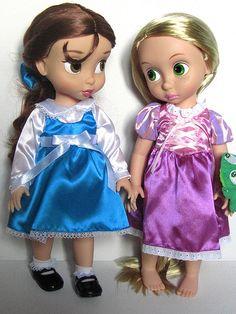 Belle (Beauty & The Beast) & Rapunzel (Tangled)
