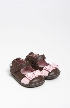 Robeez® 'Fancy Fiona' Crib Shoe (Baby & Walker) available at #Nordstrom