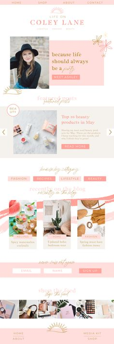 Hygge Design Co provides Showit and Squarespace web design services for creative entrepreneurs. Website Design Layout, Website Design Inspiration, Blog Design, Web Design Inspiration, Brand Design, Entrepreneur, Brand Guide, Branding, Web Design Services