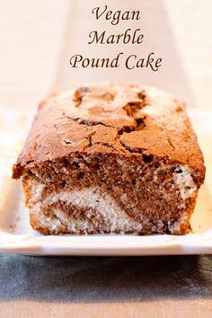 Marble Vegan Pound Cake Recipe - A prize winner! Prize-Winning Chocolate Marble Vegan Pound Cake Recipe Go Dairy Free godairyfree - Vegan Sweet Indulgent Recipes - Marble Vegan Pound Cake Recipe - A prize winner! Go Dairy Free Marble V Marble Pound Cakes, Almond Pound Cakes, Marble Cake Recipes, Vegan Pound Cake Recipe, Pound Cake Recipes, Vegan Cake, Vegan Loaf, Vegan Dessert Recipes, Vegan Sweets